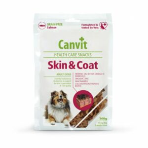 Canvit Snacks Skin and Coat pro psy