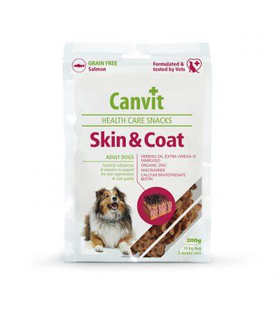 Canvit Snacks Skin and Coat pro psy