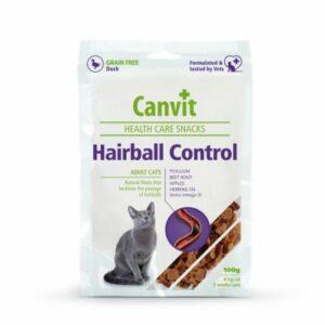 Canvit Snack Hairball Control pro kočky